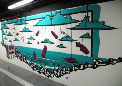 Fresque-peinture-murale-part-dieu-lyon-3-