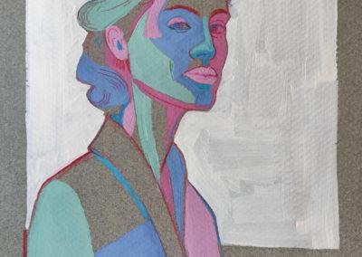 Pierre MATHIEU Serie Portrait 2