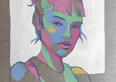 Pierre MATHIEU Serie Portrait 3