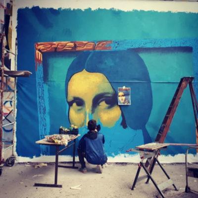 Fresque à Montreuil