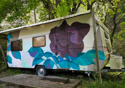 Fresque Caravane Pierre MATHIEU Peinture Die-1