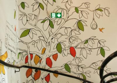 Pierre MATHIEU la fresquerie 2020-Photos fresque New tree Cafe-Photos fresque New tree Cafe-4