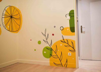 102 mars 2021-Pierre MATHIEU - Photos fresque Chambre Enfant deco murale